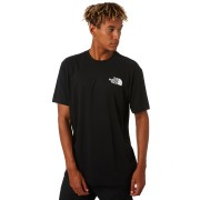 The North Face Red Box Mens Tee Tnf Black