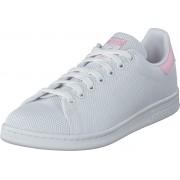 adidas Originals Stan Smith W Ftwr White/Wonder Pink F10, Skor, Sneakers & Sportskor, Löparskor, Vit, Dam, 39
