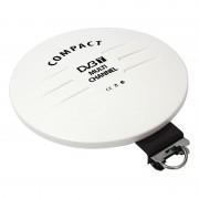 Antena DVB-T omni-directionala pentru exterior, 44 Ohm, 75 Ohm, alimentator inclus