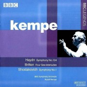 BBC LEGENDS J. Haydn - Haydn : Symphonie n° 104 ; Britten : Four Sea Interludes tirés ; Chostakovitch : Symphonie n ° 1 [CD] USA import