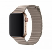 Devia Řemínek pro Apple Watch 42mm / 44mm - Devia, LeatherLoop Stone
