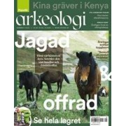 Tidningen Populär Arkeologi 6 nummer
