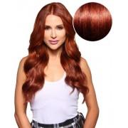 Bambina 160g Vibrant Red - Bellami Hair - Löshår