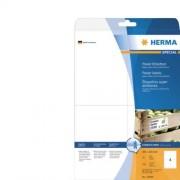 Herma Etiket Herma Power 10909 105x148mm A6 Wit 100stuks