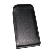 Кожен калъф Flip за Sony Xperia T3 Черен