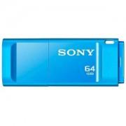 Памет Sony New microvault 64GB Click blue USB 3.0 - USM64GXL