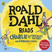 Roald Dahl Reads Charlie and the Chocolate Factory and Four, Audiobook