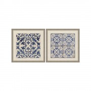 Set tablouri BLUE TILES