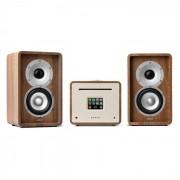 Numan Unison Retrospective 1979S Edition – All-in-One Stereoanlage: CD-Player, Internetradio, Receiver & Verstärker inkl. 2 Boxen
