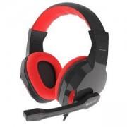 Слушалки с микрофон Genesis Gaming Headset Argon 110, Black/Red, NSG-1437