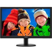 """PHILIPS_ 23.6"""" V-line 243V5LHSB/00 LED monitor"""