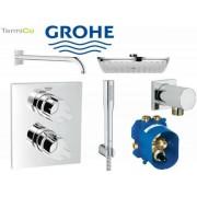 Grohe Podtynkowy zestaw prysznicowy Grohe Allure z termostatem i deszczownicą 150