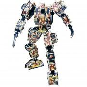 Puzzle de ensamblaje en 3D 360DSC para niños - Serie de robots Ejército de Dios.