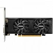 MSI Video Card GeForce GTX 1650 GDDR5 4GB/128bit, 1695MHz/8000MHz, PCI-E 3.0 x16, HDMI, DVI-D, Dual Fan Cooler Double Slot, Low-profile, Retail GTX_1650_4GT_LP_OC