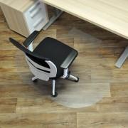 Čirá podložka na hladké povrchy 05 pod židli - délka 150 cm, šířka 120 cm a výška 0,15 cm