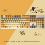 PBT Keycap 108-key Dye Sublimation Keycaps Cherry For Cherry Mx Switch Mechanical Gaming Keyboard