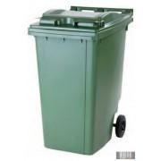 Külső hulladéktároló, szemetes kuka, több színben, 360 literes, műanyag