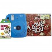 Pack Instax Mini 9 + 20 Films + álbum Love