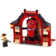 LEGO World Adventure Series Lion God Junchi Corridor 7413