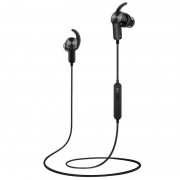 Huawei Bluetooth Headset Sport AM60 - безжични спортни слушалки за iPhone, Samsung, Sony, HTC и мобилни телефони с Bluetooth (черен)