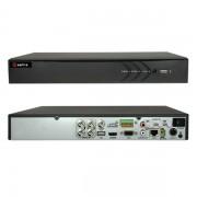 DVR 4 CANALI IBRIDO 5 IN 1 TURBO HD 3MEGAPIXEL A 12FPS HTVR61-VISHTVR6104A-HEVC