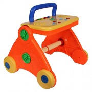 Toy Plus Baby Activity Walker - Colorful And Interactive (Multicolor)