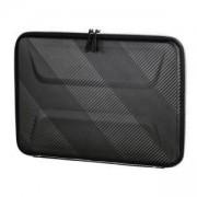 Универсален калъф за лаптоп HAMA Protection, до 34 см, 13.3 инча, Удароустойчив, Пластмасов, Черен, HAMA-101793
