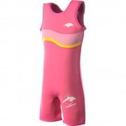 Konfidence Costum inot copii din neopren Warma Wetsuit Pink 6 7 ani