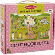 Primul meu puzzle de podea eco Tinutul Printelesor