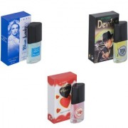 Carrolite Combo Blue Lady-Devdas-Younge Heart Red Perfume