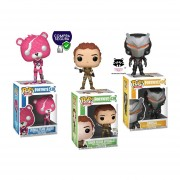 Cuddle team leader, Tower Recon Specialist y Omega Fortnite Funko pop