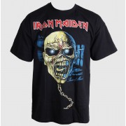 tricou stil metal bărbați Iron Maiden - Piece of Mind Skull - ROCK OFF - IMTEE36MB