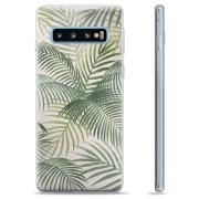 Samsung Galaxy S10 TPU Case - Tropisch