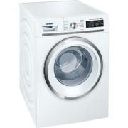 Перална машина iSensoric Premium-пералня в нов елегантен дизайн с интелигентна дозираща система i-Dos. Капацитет: 9 kg Енергиен клас: A+++ -30% Максимални обороти: 1600 rpm XXL обем на барабана 65 л