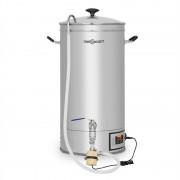 OneConcept Hopfengott 15, пивоварна, 15 литра, 30 - 140 °C, Циркулационна помпа, неръждаема стомана (BRD3-Hopfengott15)