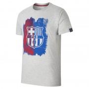 FC Barcelona Painted Herren-T-Shirt - Grau