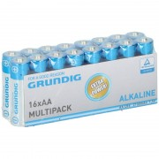 Grundig 16x Grundig AA batterijen alkaline 1.5 V
