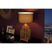 Dizajnová stolová lampa Bruce, 68 cm, zlatá