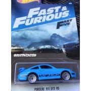 Hot Wheels 2017 Fast & Furious Porsche 911 Gt3 Rs In Blue
