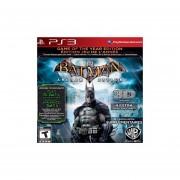 Batman Arkham Asylum Game Of The Year Edition 3D para Playstation 3