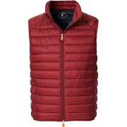 Save The Duck Lightweight Padded Vest Ruby Red