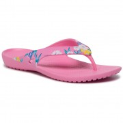 Джапанки CROCS - Kadee II Printed Flip W 205998 Tropical Floral/Pink Lemonade
