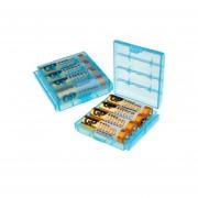 5 x Estuches para baterias AA y AAA
