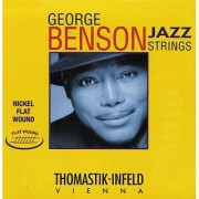 Thomastik-Infeld GB39 Jazz Guitar Strings: Jazz Series Strings Steel Core; Pure Nickel Flat Wound - Single A String