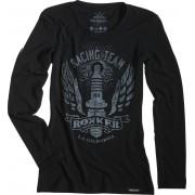 Rokker Performance Racing Team Long Camisa de las señoras Negro S