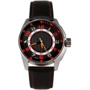 Fastrack Quartz Black Dial Mens Watch-3089SL12