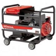 Generator curent monofazat cu motor Honda H 5500M ES, 5.5KVA benzina pornire electrica