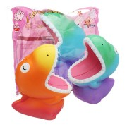 Big Mouth Dinosaur Squishy 15*12.5*8.5CM Slow Rising Soft Toy Gift Collection With Packaging