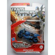 Transformers Prime Arcee - Robots In Disguise - Deluxe Revealer