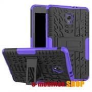 OTT! VROOM műanyag védő tok,SAMSUNG SM-T380 Galaxy Tab A 8.0 (2017) / SAMSUNG SM-T385 Galaxy Tab A 8.0 (2017) (4G/LTE),Fekete,Lila